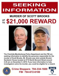 Justice for Scott Brooks - Seeking Info - up to $21,000 REWARD